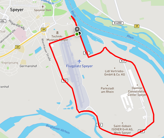 10km - Distance Run Speyer